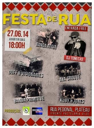 Cartaz Festa de Rua (XL)