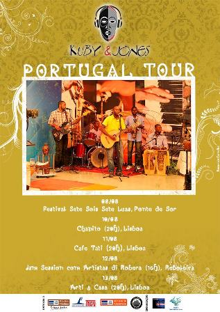 Cartaz Portugal Tour Kuby & Jones